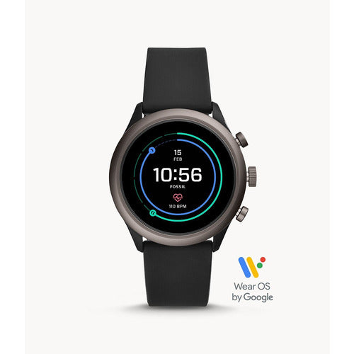 Fossil Wearables Silicone Sport Smartwatch