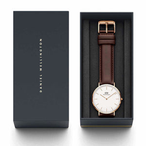 Daniel Wellington Bristol Rose/White 40mm