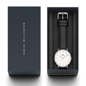 Daniel Wellington Sheffield Silver/White 40mm