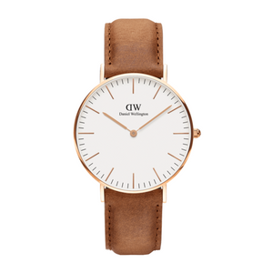 Daniel Wellington Durham Rose Gold/White 36mm
