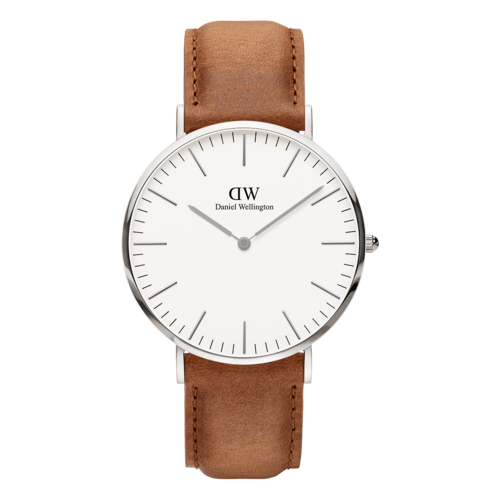 Daniel Wellington Durham Silver/White 40mm