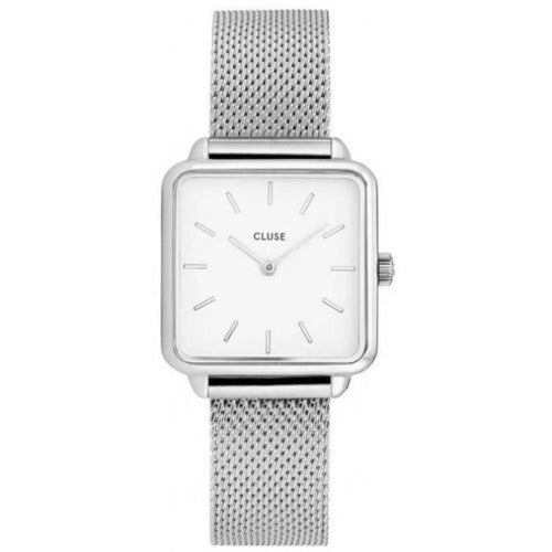 CLUSE La Tetragone Stainless-Mesh Watch