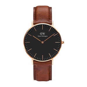 Daniel Wellington St.Mawes Rose Gold/Black 36mm