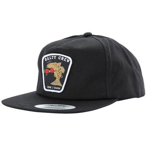 Salty Crew Knockout 5 Panel Snapback Hat