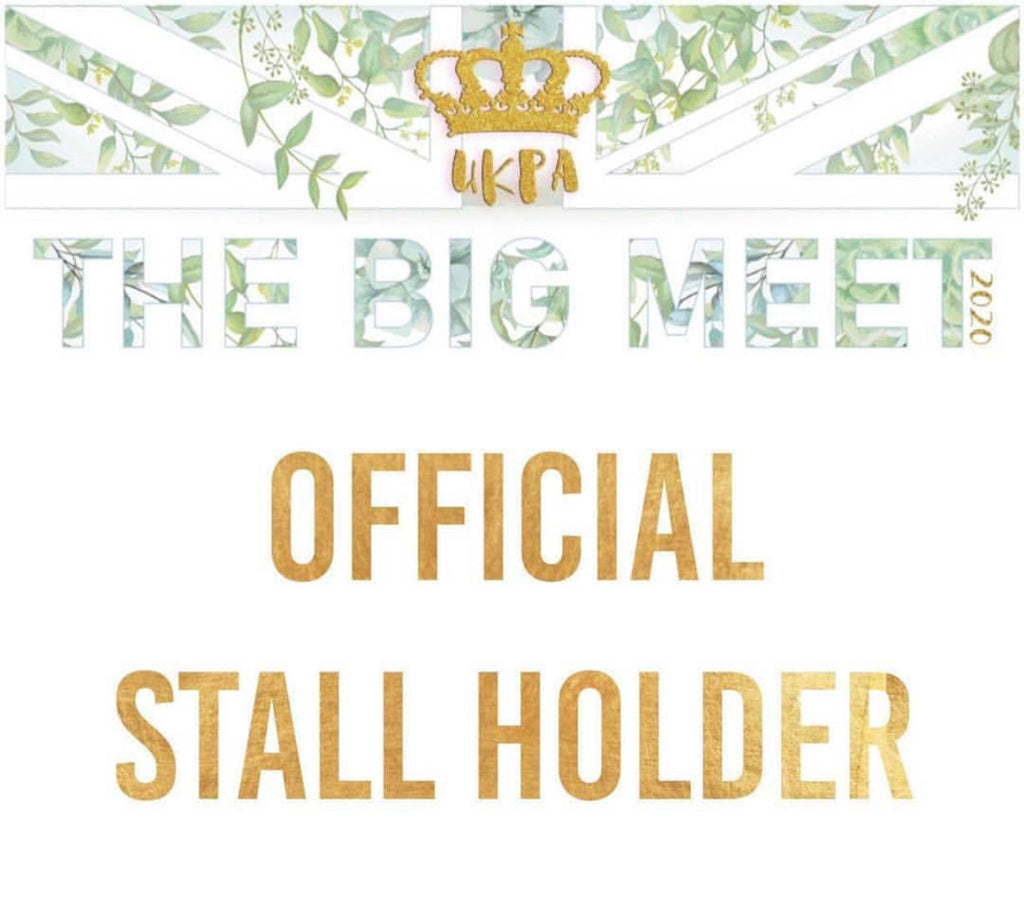 I'm super excited to be having a stall at UK Planner Addicts BIG MEET 2020!   This will be my fourth year of attending as s stall holder. Can't wait!