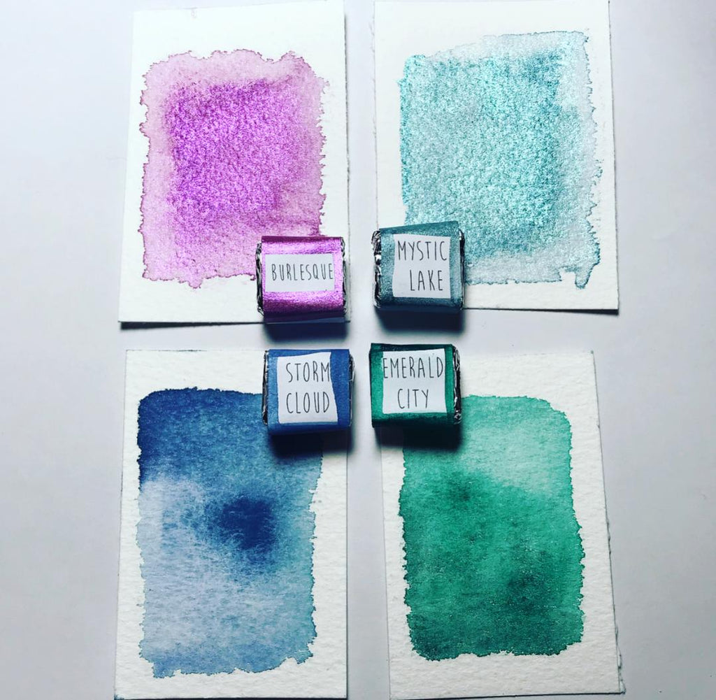 LOVE & LIGHT - Handmade Watercolour set