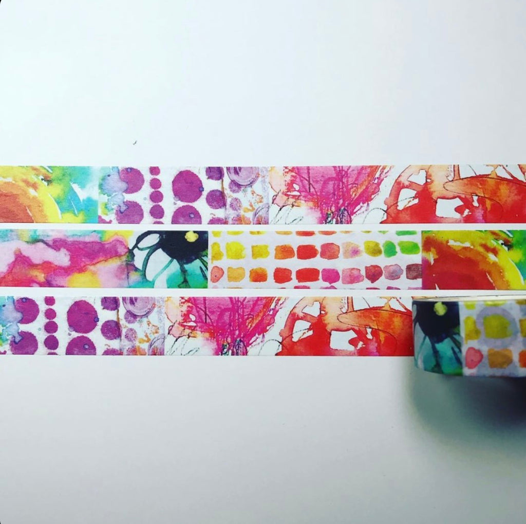 COLOUR ME HAPPY - WASHI TAPE
