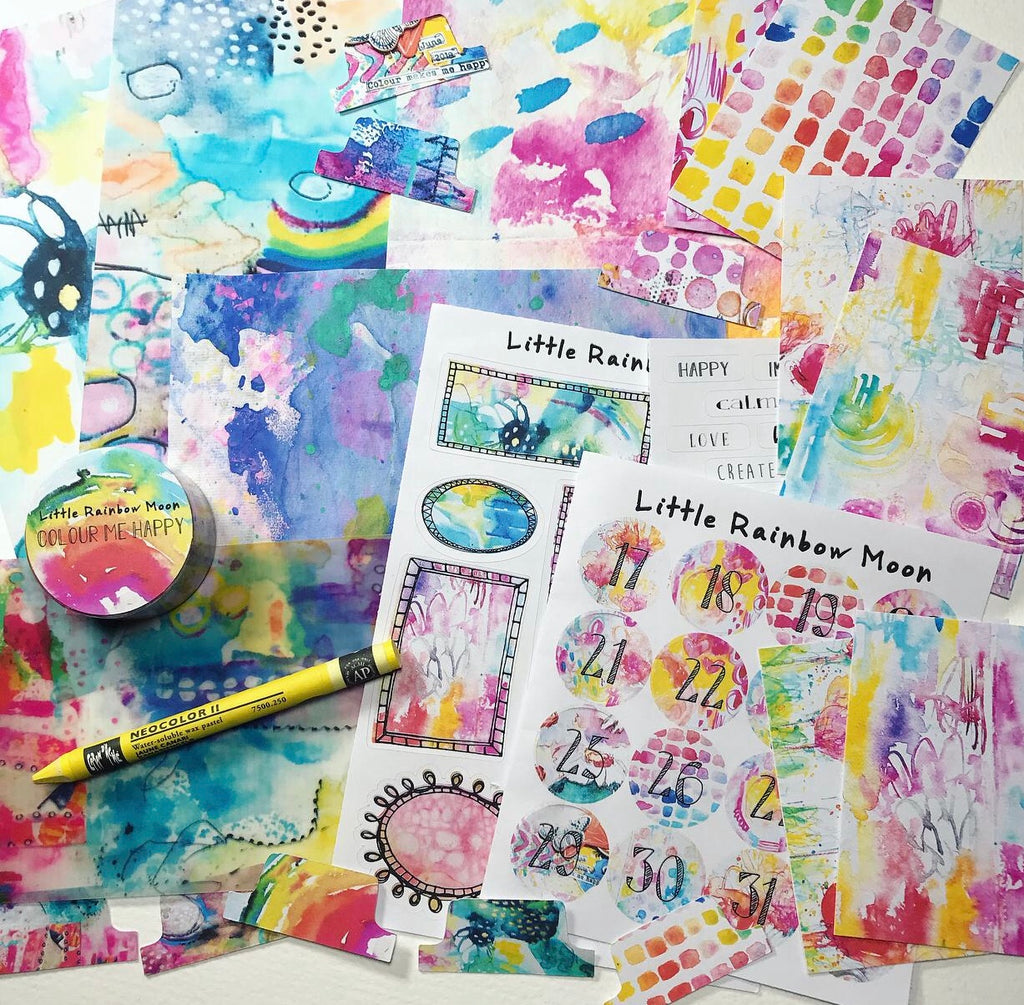 COLOUR ME HAPPY Creative Kit (Featuring guest artist - Irit Landgraf)