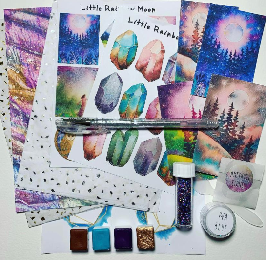 ENERGY Creative Kit READY TO SHIP Featuring guest artist - Melanie April