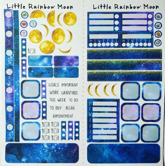 BENEATH THE STARS Hobonichi Weeks Kit