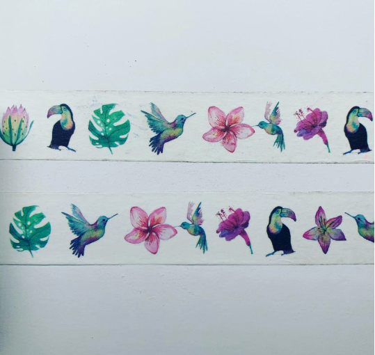 TROPICAL GARDEN - WASHI TAPE