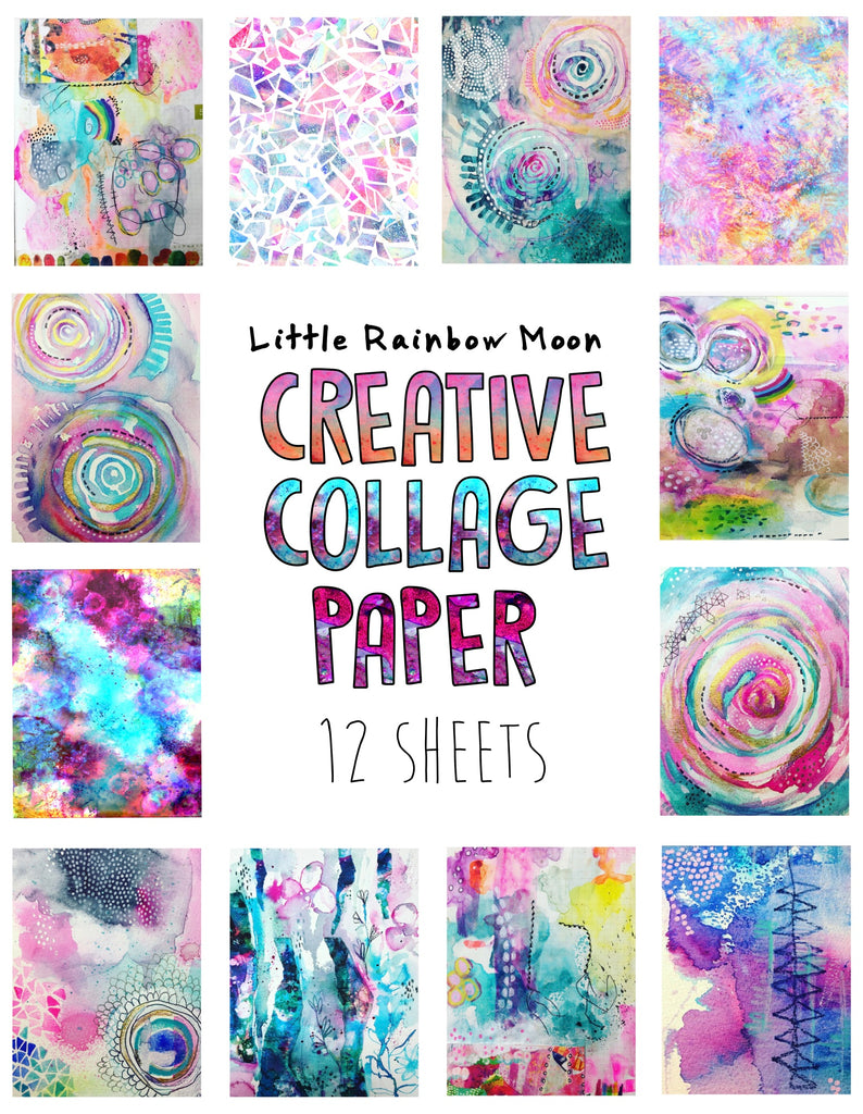 CREATIVE COLLAGE PAPER PACK