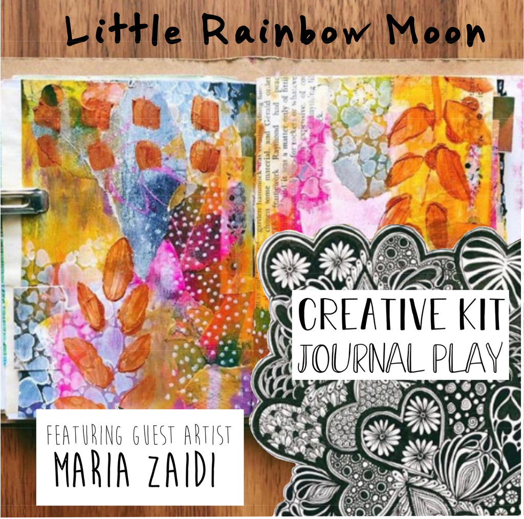JOURNAL JOY Creative Kit (READY TO SHIP) Featuring guest artist - Maria Zaidi