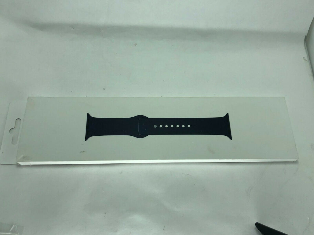 .Genuine Apple Watch 44mm 42mm Sport Band Strap Series 5 4 3 2 1 Midnight Blue