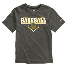 Load image into Gallery viewer, New Era Youth Series Performance Crew Tee (Viking Baseball Plate Logo)