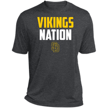 Load image into Gallery viewer, Nation Heather Dri-Fit Moisture-Wicking T-Shirt