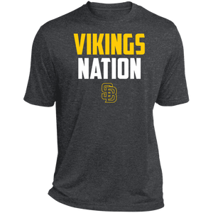 Nation Heather Dri-Fit Moisture-Wicking T-Shirt