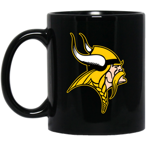 Viking 11 oz. Black Mug