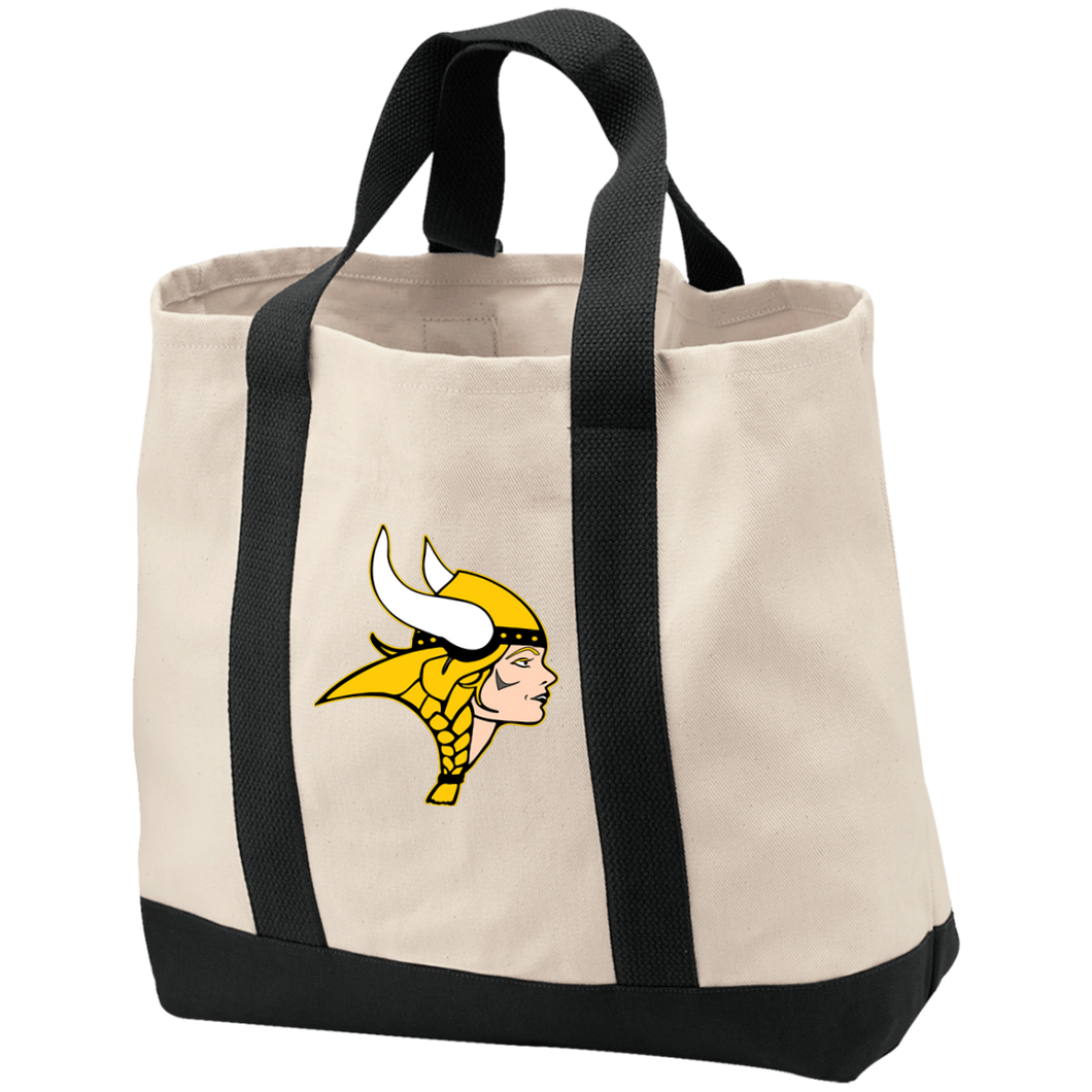 Vikings 2-Tone Shopping Tote
