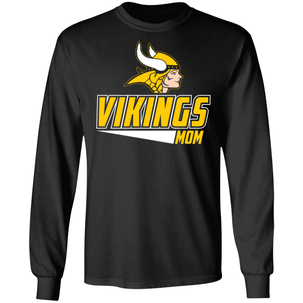 Vikings Softball Mom Special  LS Ultra Cotton T-Shirt