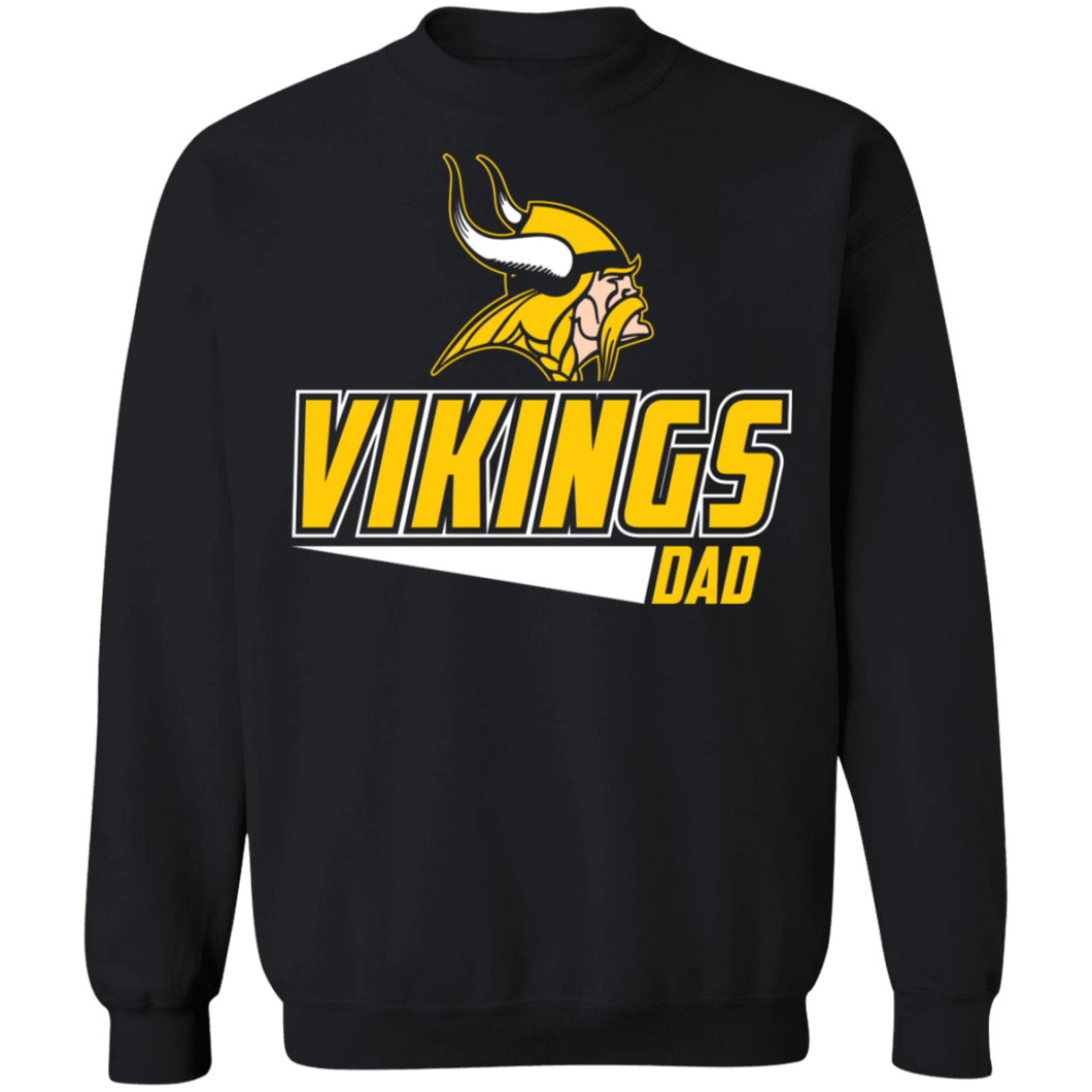 Viking Baseball Dad Special Crewneck Pullover Sweatshirt  8 oz.