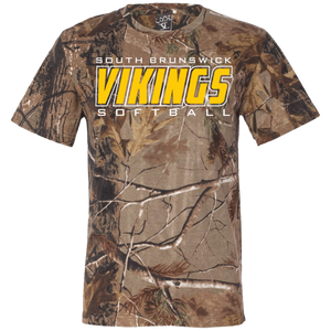 SB Vikings Short Sleeve Camouflage T-Shirt