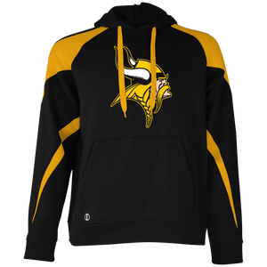 Vikings Graphic (gold) Colorblock Hoodie
