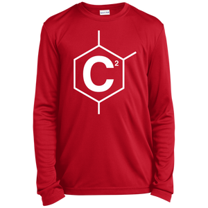 C2 Youth Long Sleeve Moisture-Wicking T-Shirt