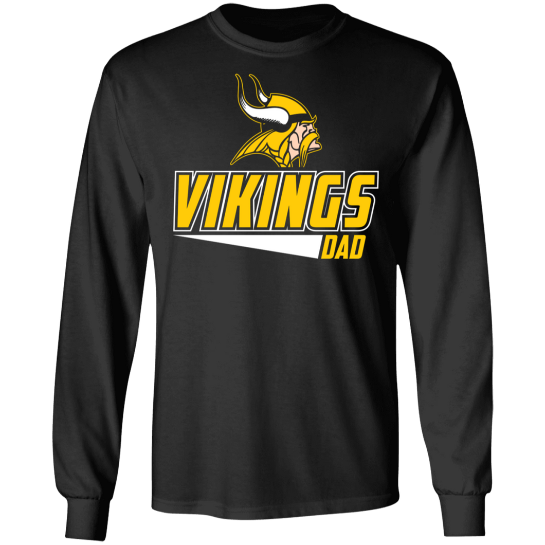Vking Baseball Dad Special  LS Ultra Cotton T-Shirt