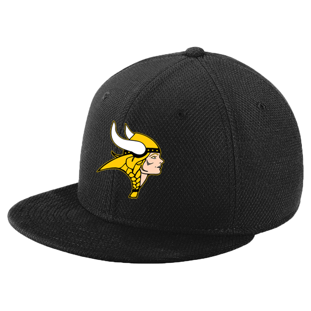 New Era Youth Original Fit Flat Bill Snapback Cap (Lady Viking)