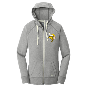 New Era Ladies Cotton Full Zip Hoodie (Lady Viking)