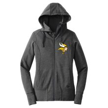 Load image into Gallery viewer, New Era Ladies Fleece Full Zip Hoodie (Lady Viking)
