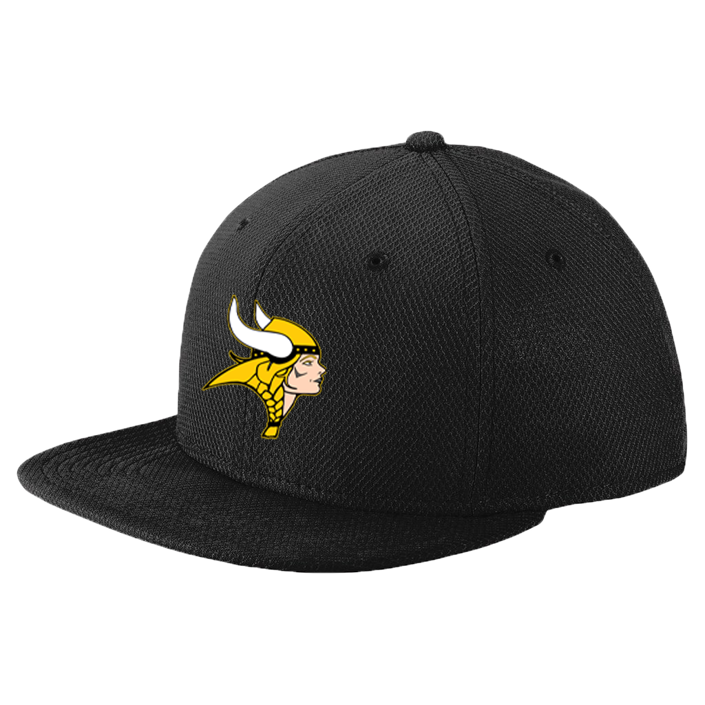 New Era Original Fit Flat Bill Snapback Cap (Lady Viking)