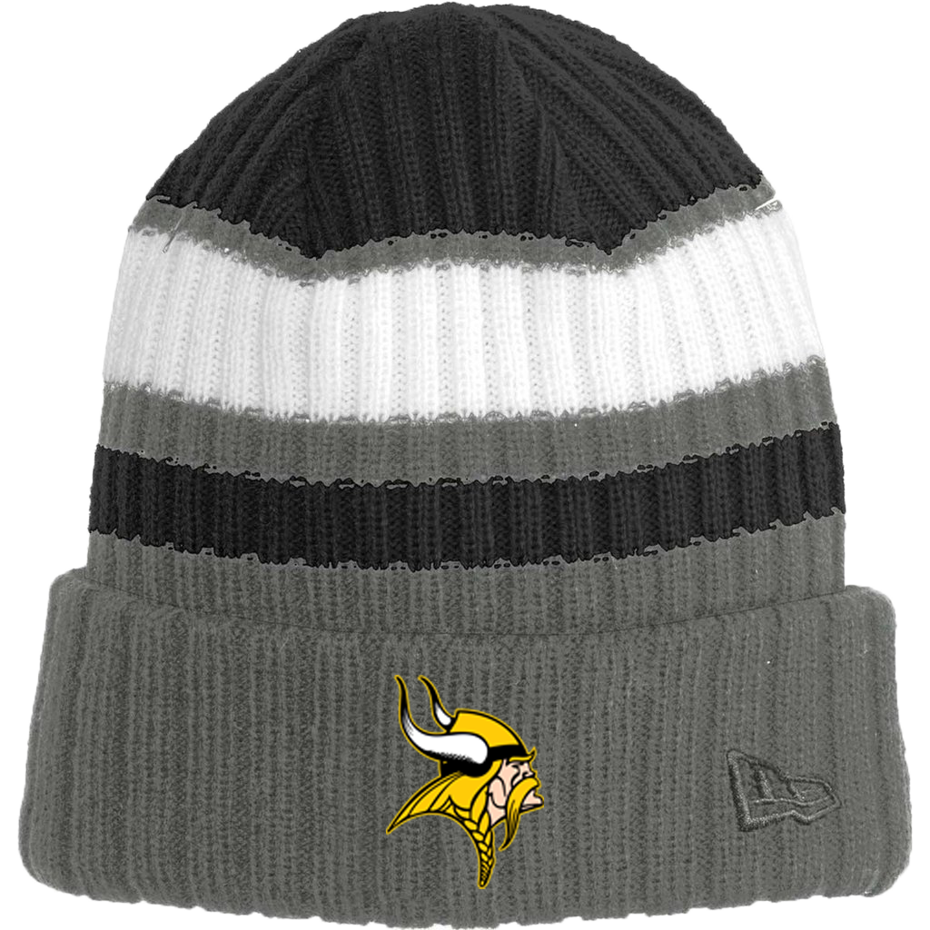 New Era Ribbed Tailgate Beanie (Viking)