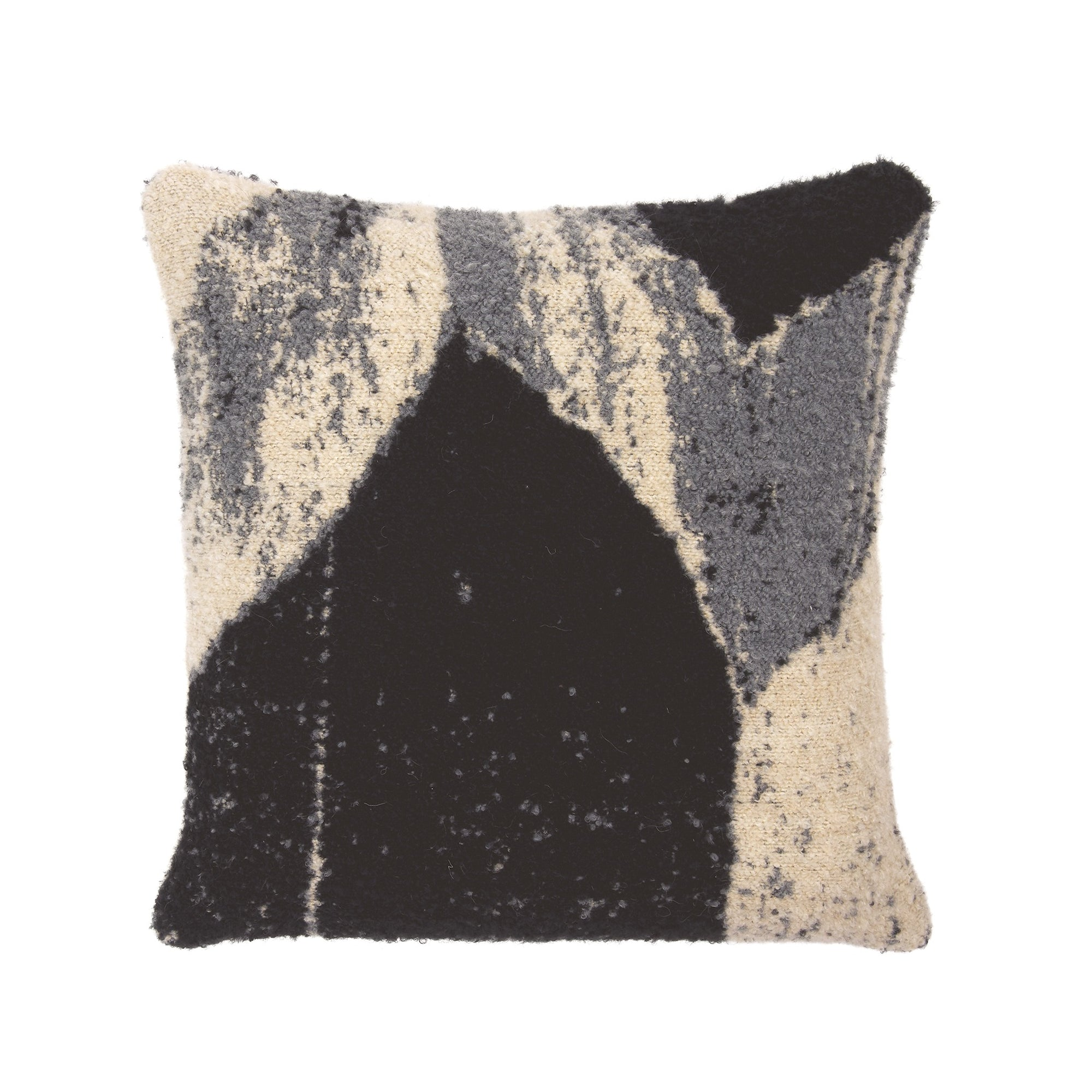 Nero Chevron cushion