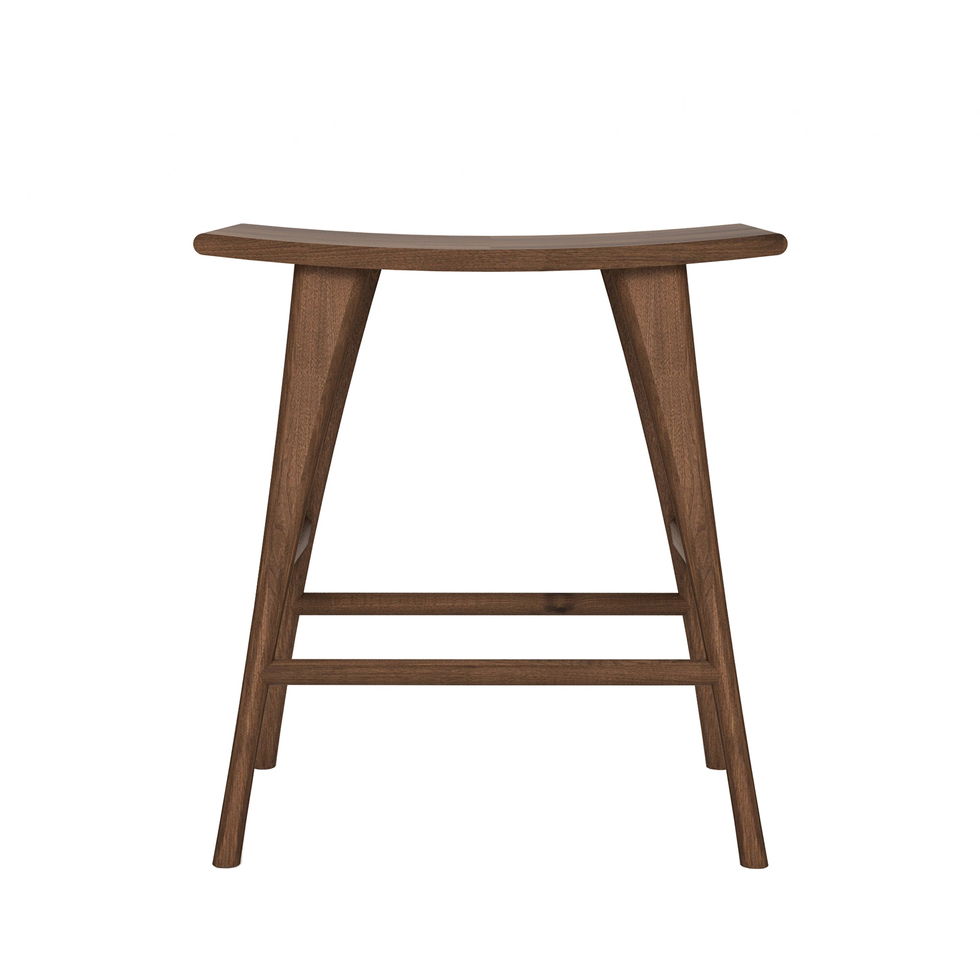 Walnut Osso counter stool