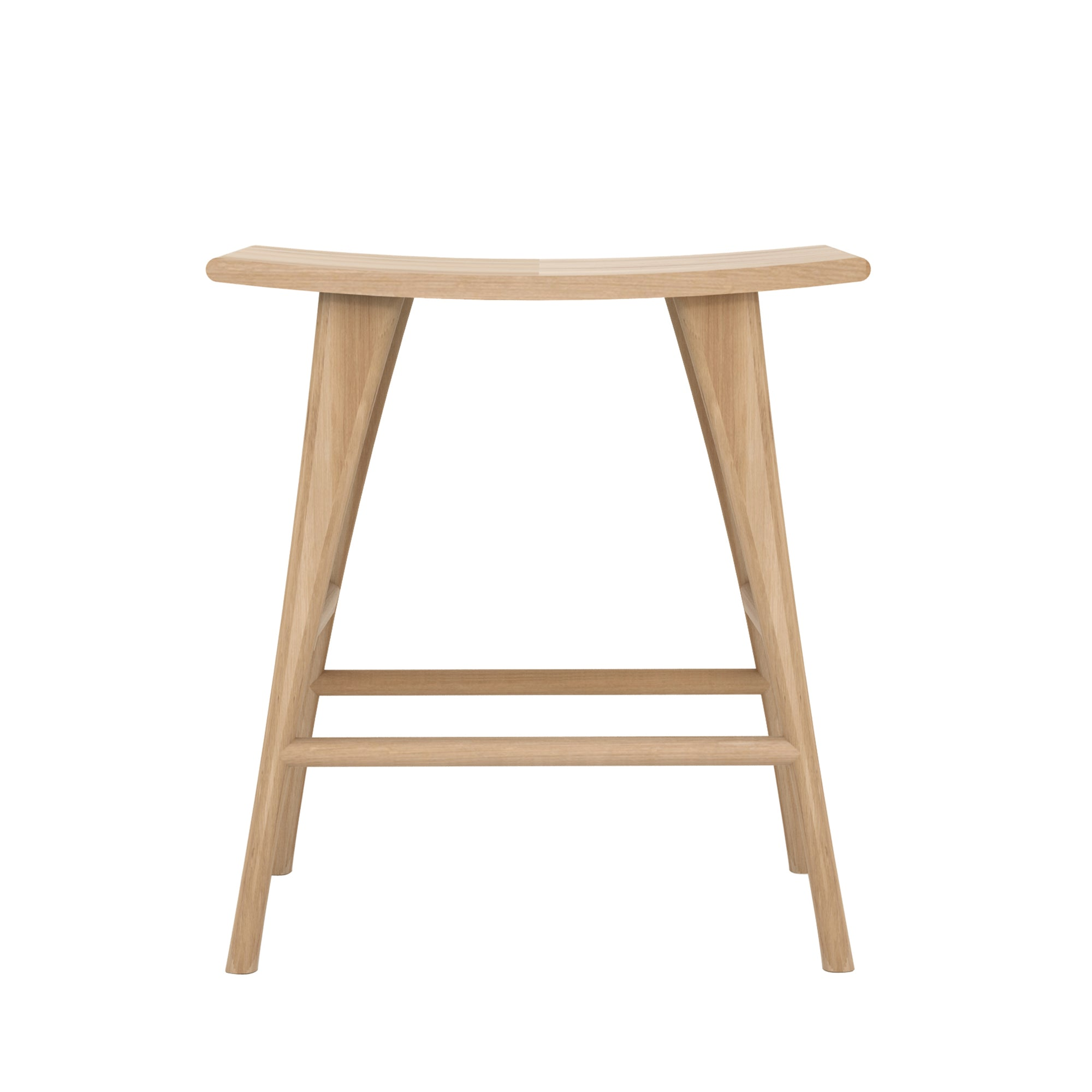 Oak Osso counter stool