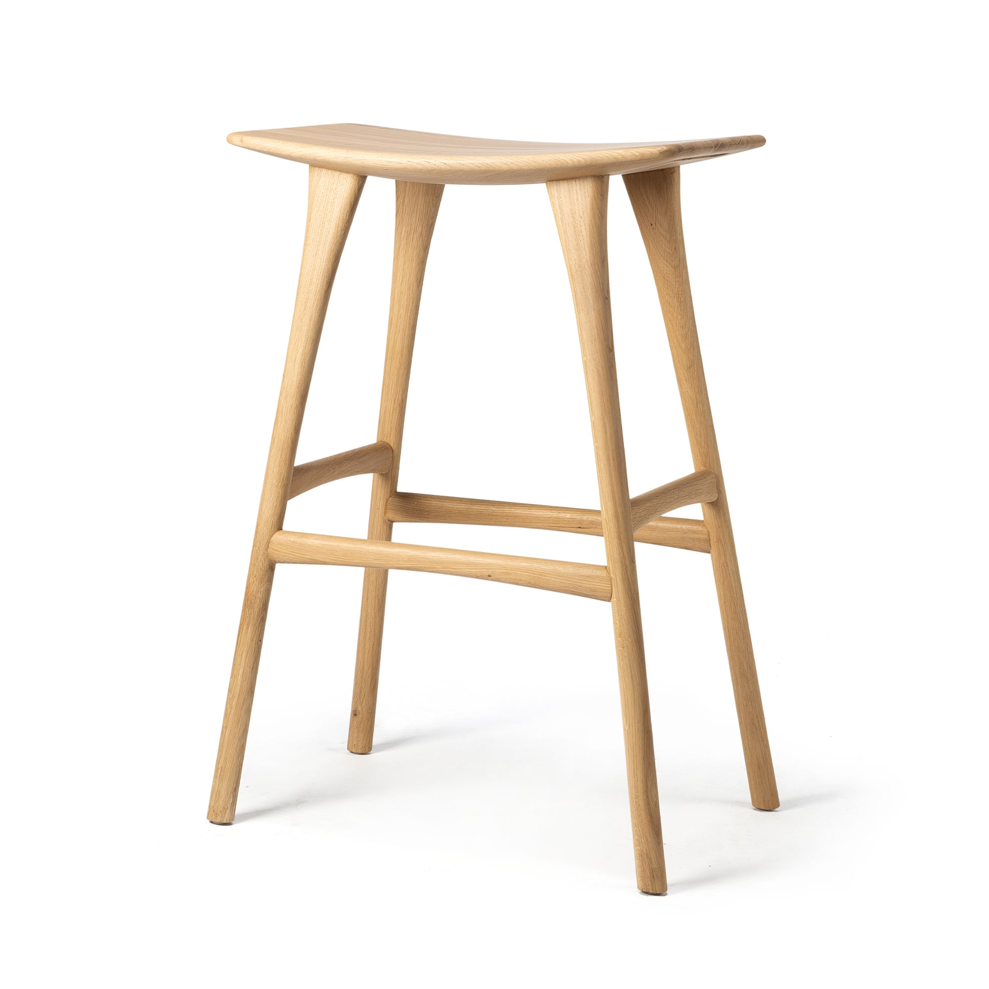 Oak Osso bar stool