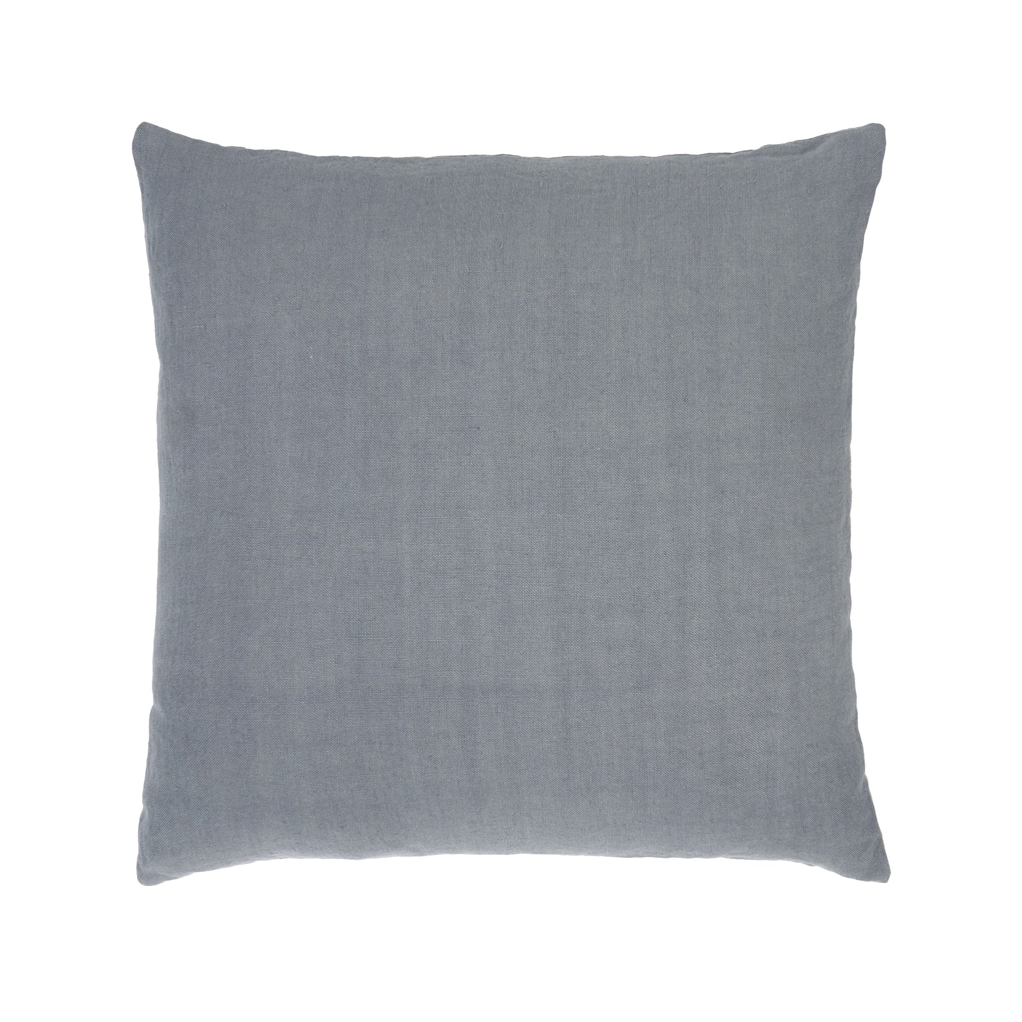 Silver Linen Sauvage cushion