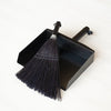 Black Whisk Broom & Dustpan Set