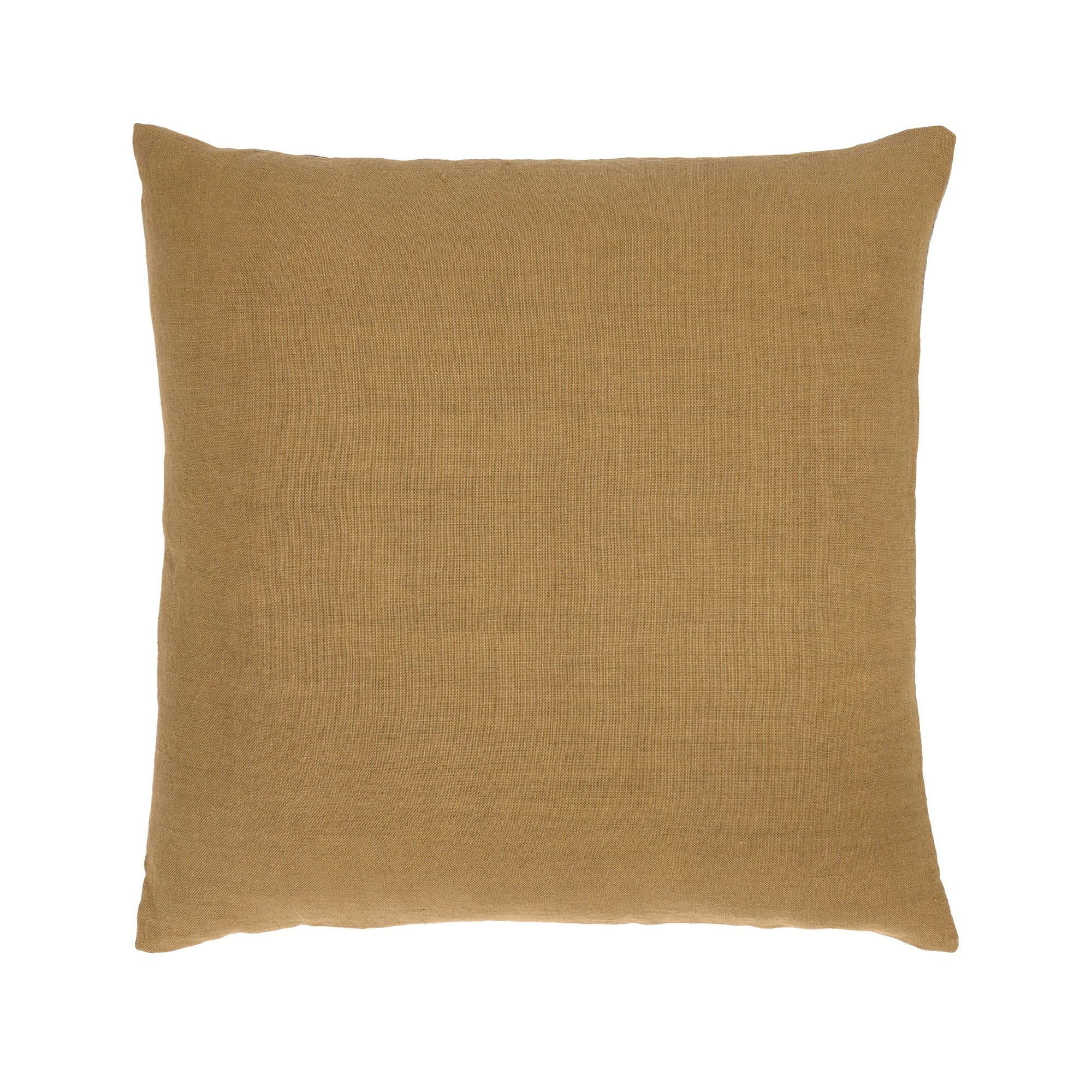 Camel Linen Sauvage cushion