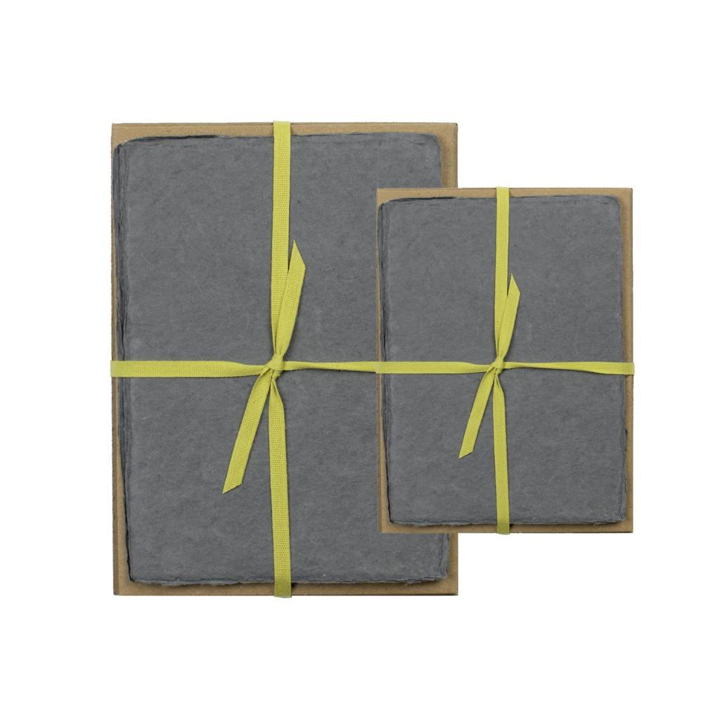 Handmade Paper Pack - Charcoal