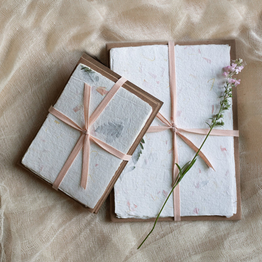 Handmade Paper Pack - Floral