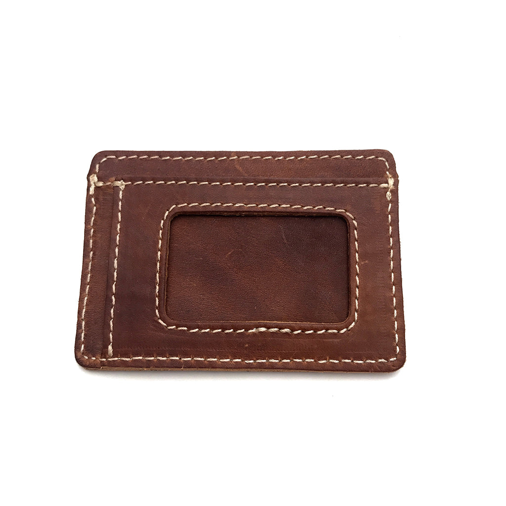 Leather Front Pocket ID Wallet