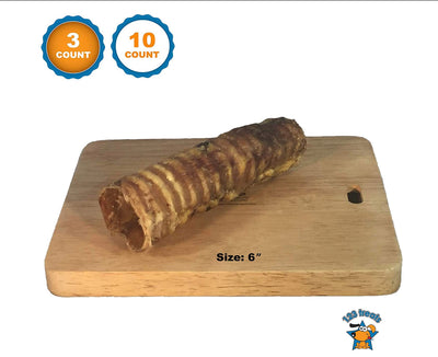 TRACHEA for Chew for dogs | USA Made | 100% Natural Beef Chew | From Free-Range Cattle