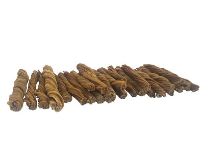 5 inch Beef Tripe for Dogs chews (25 Count) by 123 Treats | Made of All Natural, Free Range, Grass Fed Beef - Great for Puppies and Senior Dogs