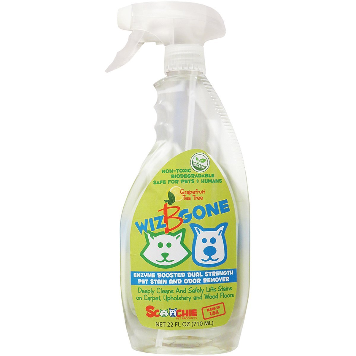 22 Ounces or 1 Gallon - Pet stain and odor remover | Wizbgone | Dogs and cats stains removal