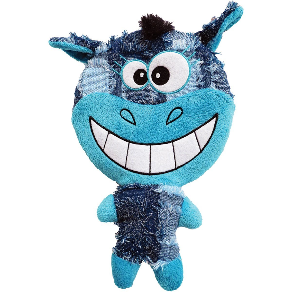 Plush Happy Day Face Dog Toy 10.5""
