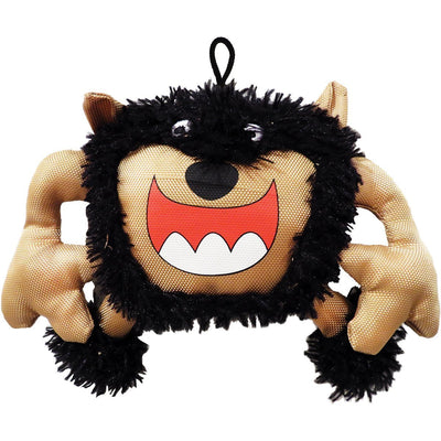 Scoochie Pet Products Monster Dog Toy|Scary Big Mouth Monster|9 Inch|Plush Dog Toy|We Squeak