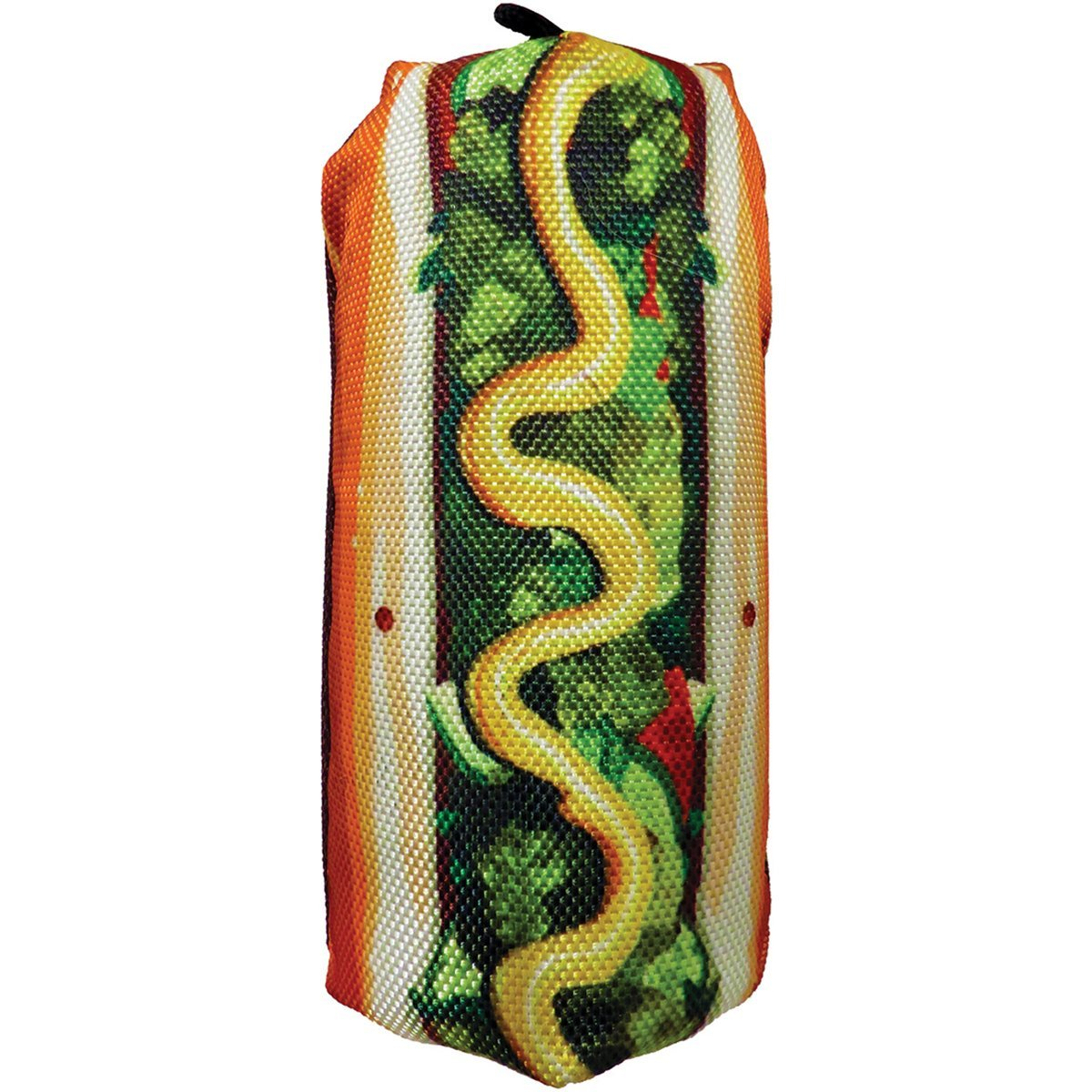 Hot Dog Dog Toys | 7 Inch Scoochzilla Tough Toy for Dogs | We Squeak!